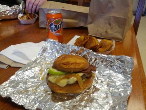 A Heap Burger